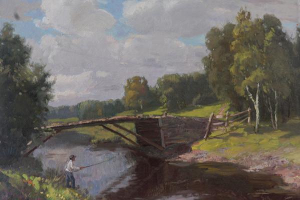 Vasily Panfilovich Kurmanaevsky. Old bridge