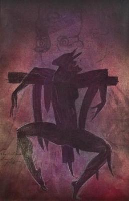 Ernst Fuchs. Scarecrow