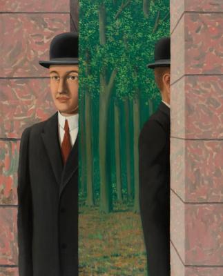 Rene Magritte. Le Lieu Commun