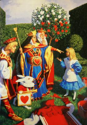Greg Hildebrandt. Paint the roses red