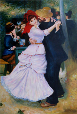 Пьер Огюст Ренуар. Танец в Буживале