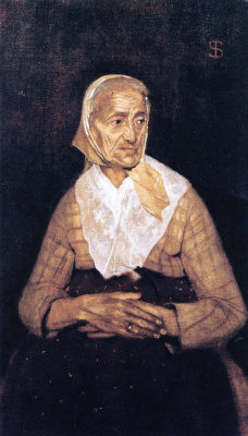 Телемако Синьорини. Бабушка