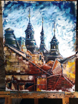 Nina Polunin. Old Europe. Tallinn