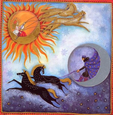 Джейн Рэй. Солнце и луна