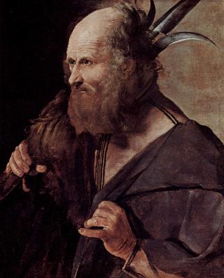 Georges de La Tour. The Apostle Judas Son Of James