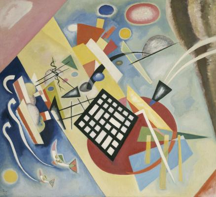 Wassily Kandinsky. Black grille