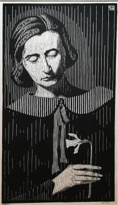 Maurits Cornelis Escher. Portrait of a Jetta Asher-Umiker