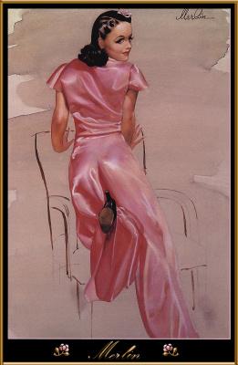 Мерлин Энабнит. Девушка в розовом