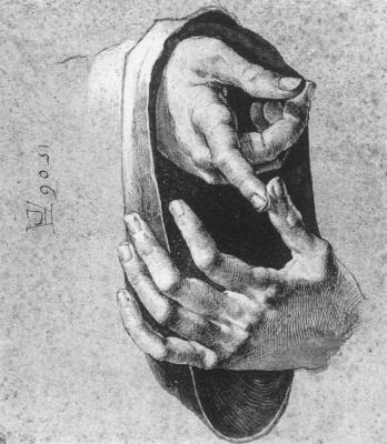 Albrecht Durer. Hands