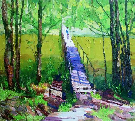 Michael Mine. The bridge