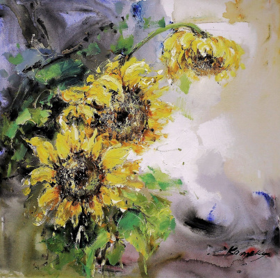 Savely Kamsky. Sunflowers N2