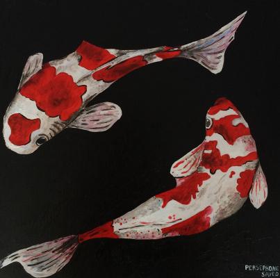 Persephone Saved. Japanese carp