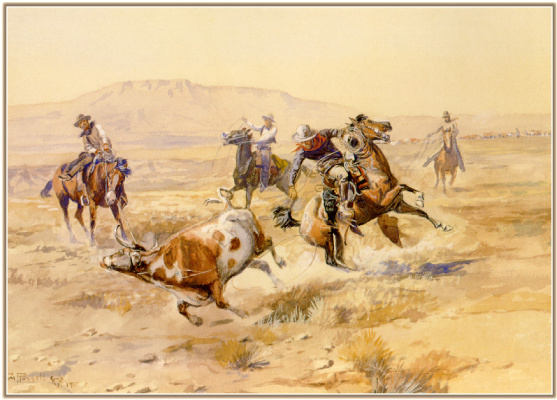 Charles Marion Russell. Renegade