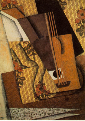 Хуан Грис. Гитары