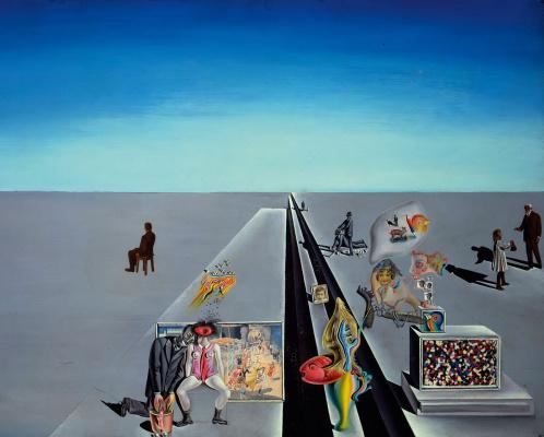 Salvador Dali. The first days of spring
