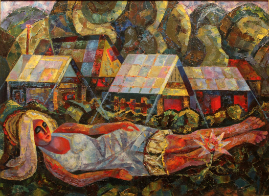 Vladimir Vladimirovich Korkin. Citywoman's sweet dream