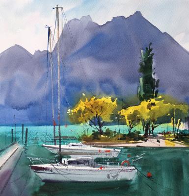 Andrew. Lake Garda