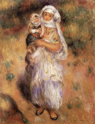 Pierre-Auguste Renoir. Algerian child