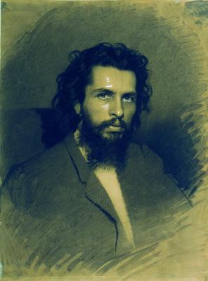 Иван Николаевич Крамской. Портрет художника Николая Андреевича Кошелева