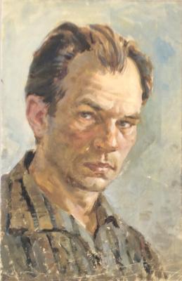 Николай Петрович Карякин. Автопортрет