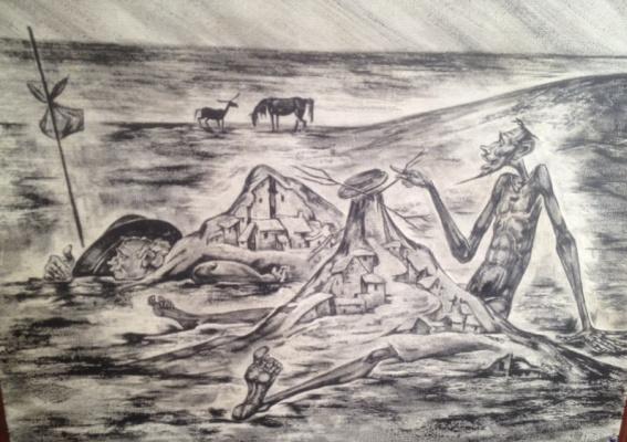 Oleg nikolaevich Grigorov. Sand castles