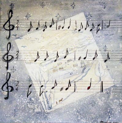 Анастасия Дашевская. Белая бумага, белый карандаш