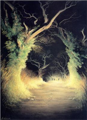 Анна Садворс. Мрачный лес