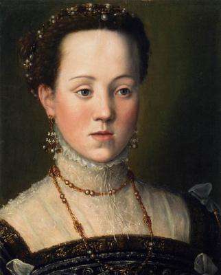 Giuseppe Arcimboldo. Archduchess Anna, daughter of Emperor Maximilian II