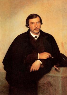 Ivan Nikolayevich Kramskoy. Portrait artist and photographer Mikhail Borisovich tulinova