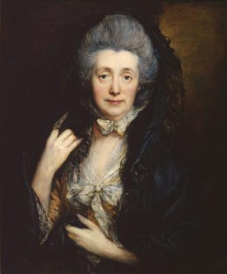 Томас Гейнсборо. Портрет Маргарет Гейнсборо, жены художника