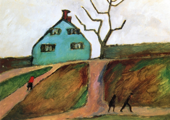Gabriele Münter. Little green house