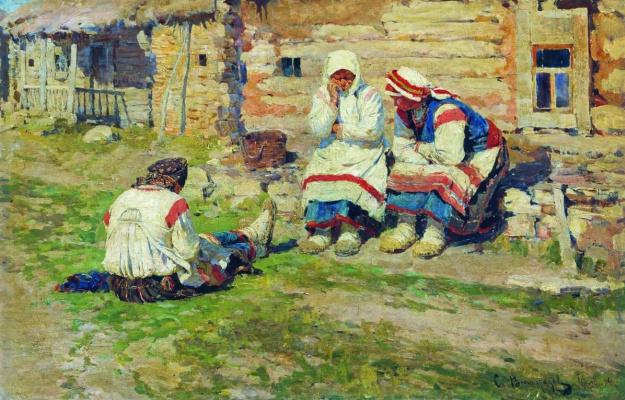 Sergey Arsenievich Vinogradov. Women