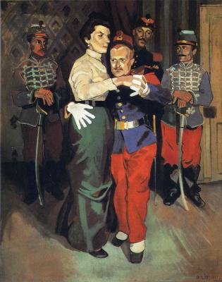 Andre Derain. Soldier's ball in SURESNES