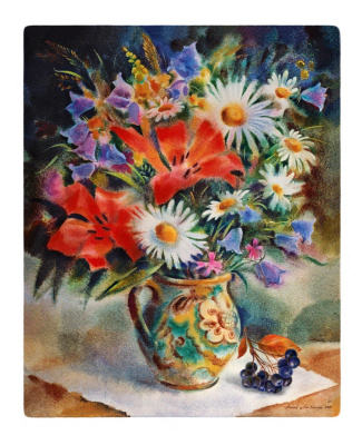 "Andrey Kozlov. ""Autumn bouquet"""