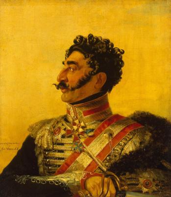 George Dow. Portrait of Valerian G. Madatov