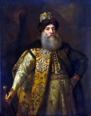 Godfrey Neller. Portrait of Peter Ivanovich Potemkin, Russian Ambassador