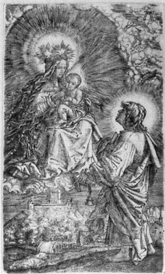 Albrecht Altdorfer. The phenomenon of the Madonna and infant John