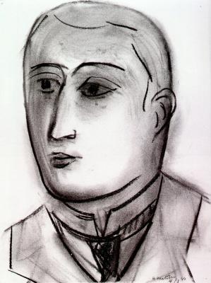 Анри Матисс. Портрет Г. Аполлинера