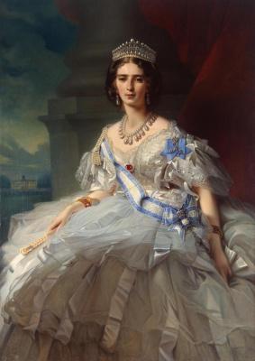 Franz Xaver Winterhalter. Portrait of Princess Tatyana Alexandrovna Yusupova II