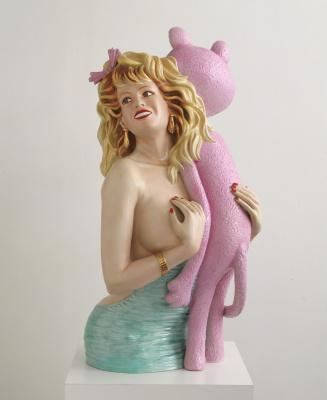 Jeff Koons. Pink Panther