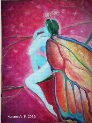 "Irina Vyacheslavna Kopaneva. ""Colorful wings"""