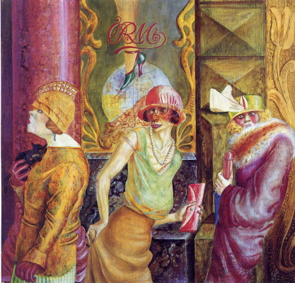 Otto Dix. Three prostitutes on the street