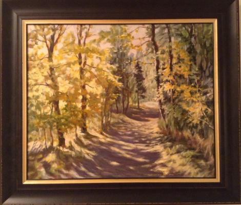 Boris Gorodilin. Autumn