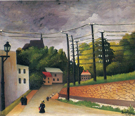 Henri Rousseau. Kind Of Malacova