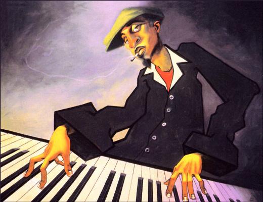 Джастин Буа. Пианист