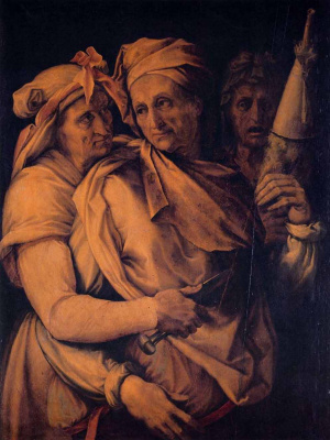 Francesco Salviati. Three fates