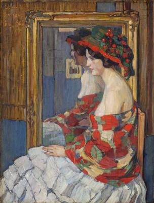 Елена Андреевна Киселева. Прекрасная Гортензия. 1908