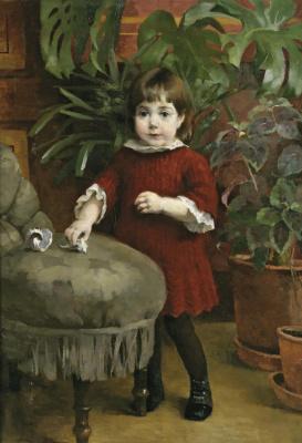 Helena Sophia Scherfbek. Baby Gudrun Ast