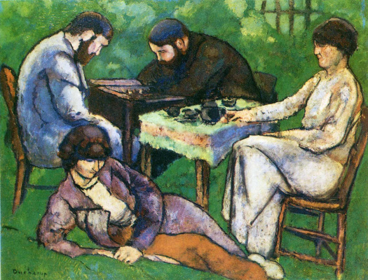 Marcel Duchamp. Chess