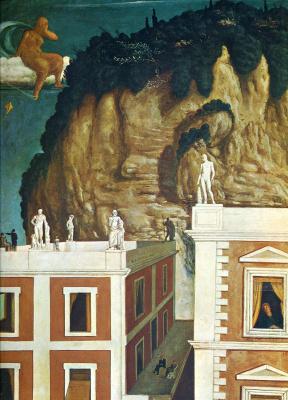 Giorgio de Chirico. Roman village